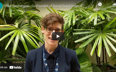 Get to know one of the founders behind Social Good Outpost